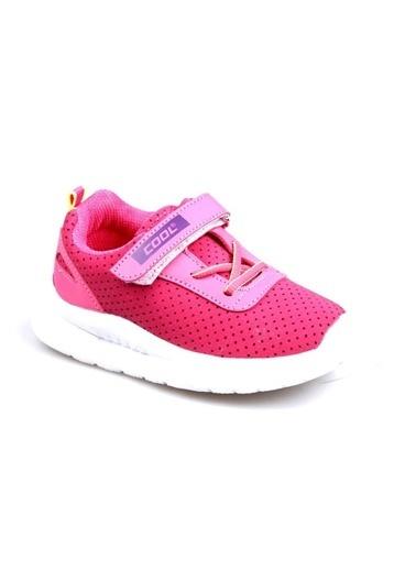 Cool 20-S20 Fuşya Kız Çocuk Fileli Günlük Spor Ayakkabı Fuşya